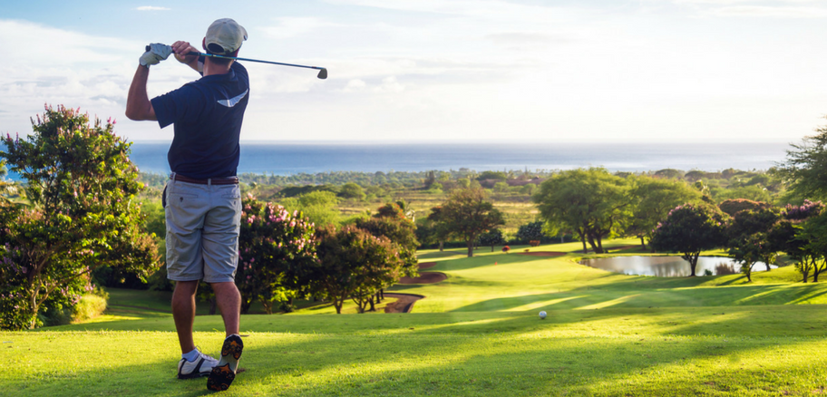 Man Playing Golf - Testosterone and Everyday Athlete   Victory Mens Health
