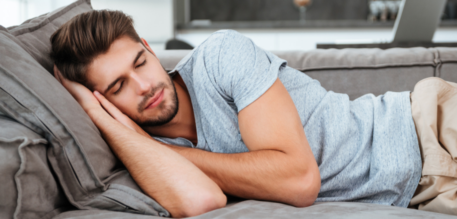 Low Libido | Man Sleeping Peacefully | Victory Mens Health