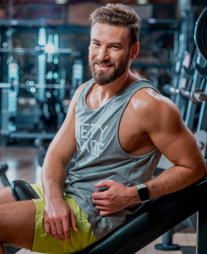 Man lifting weight - Know more about erectile dysfunction