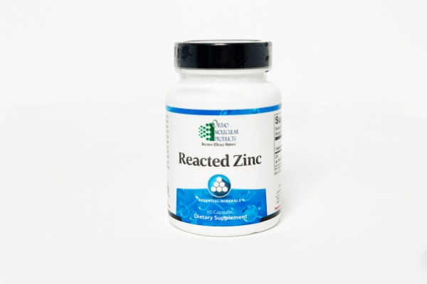Reacted Zinc Container